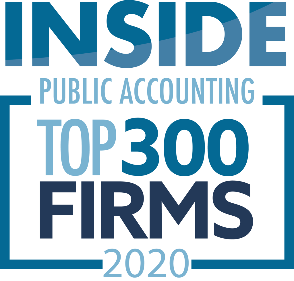 Inside Public Accounting Top 300 Firms logo
