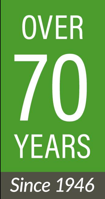 Jones and Roth 70 years logo